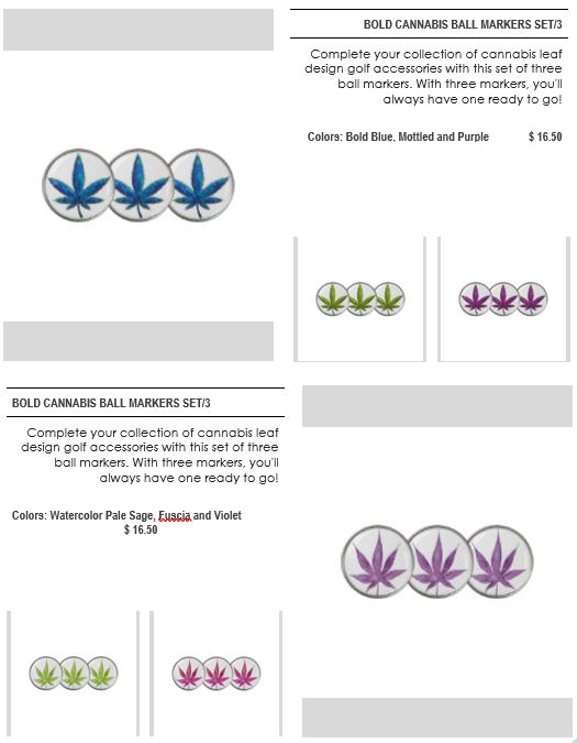 Golf items page 2