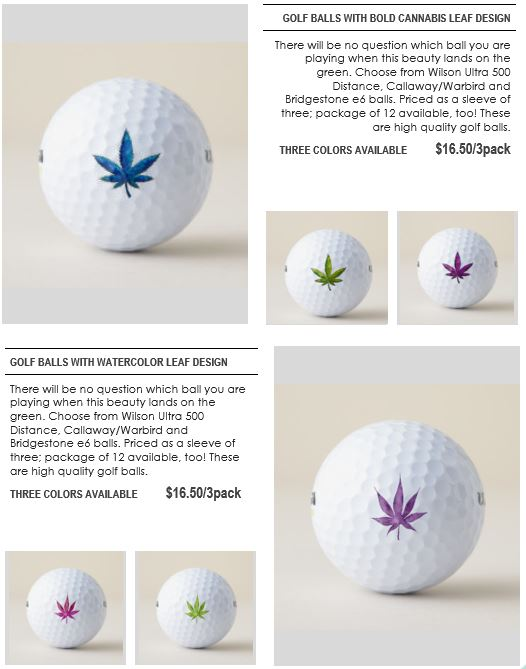 Golf items page 6