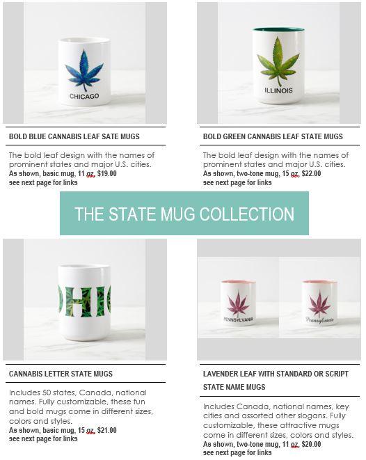 Mugs section page 1