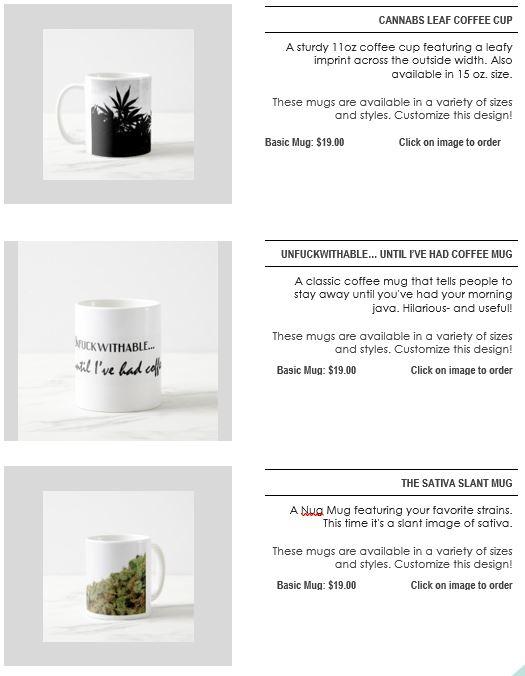 Mugs section page 8